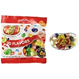 Jelly Belly Bigbean Assorted Jelly Bean Dispenser with a 3.5 Oz. Bag of 20 Assorted Jelly Bean Flavors (Tamaño: 3.5 Ounces)