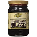 Golden Barrel Unsulphured Supreme Baking/Barbados molasses, 16 Ounce (Tamaño: 16 oz)