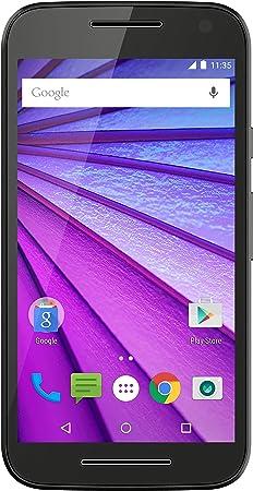 Motorola Moto G (3. Generation) Smartphone débloqué (Ecran: 5 pouces) Noir (import Allemagne)