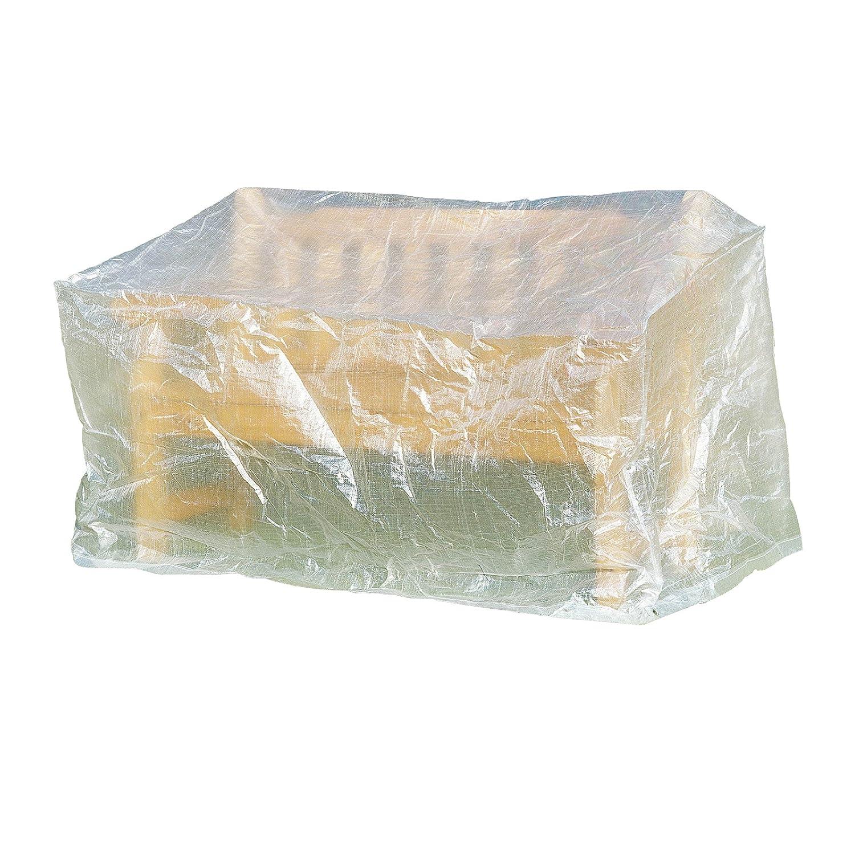 greemotion schutzh lle f r gartenbank wasserabweisen mit sen transparent 160x75x78cm kaufen. Black Bedroom Furniture Sets. Home Design Ideas
