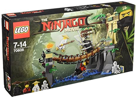 LEGO - 70608 - LEGO Ninjago - Jeu de Construction - Le Pont de la Jungle
