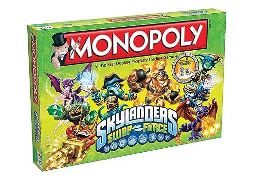 Monopoly Skylanders Swap Force Board Game: Amazon.co.uk: Toys & Games