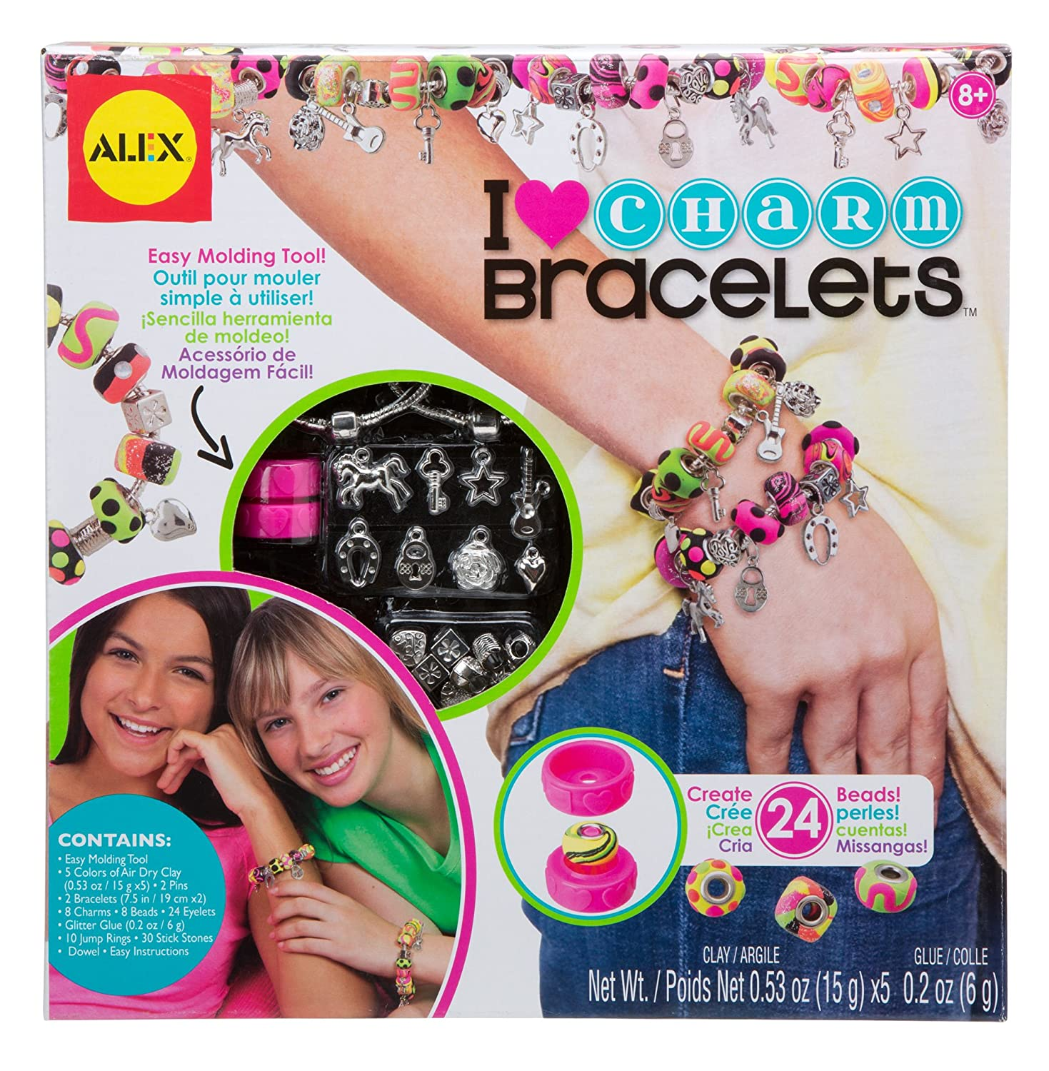 Do-it-Yourself Wear, I Heart Charm Bracelets Craft Kit