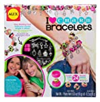 Alex Toys Alex Toys Do It Yourself Wear I Heart Charm Bracelets Craft Kit, Multi Color