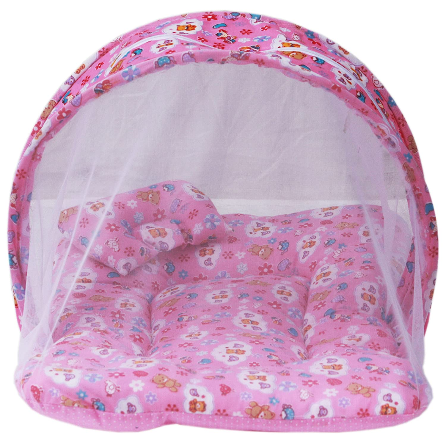 Baby Mattress with Mosquito Net on heavenkart