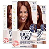 Clairol Nice'N Easy Crème 5RB Medium Reddish Brown (3 Kits) (Color: 5RB Medium Reddish Brown, Tamaño: 3 Kits)