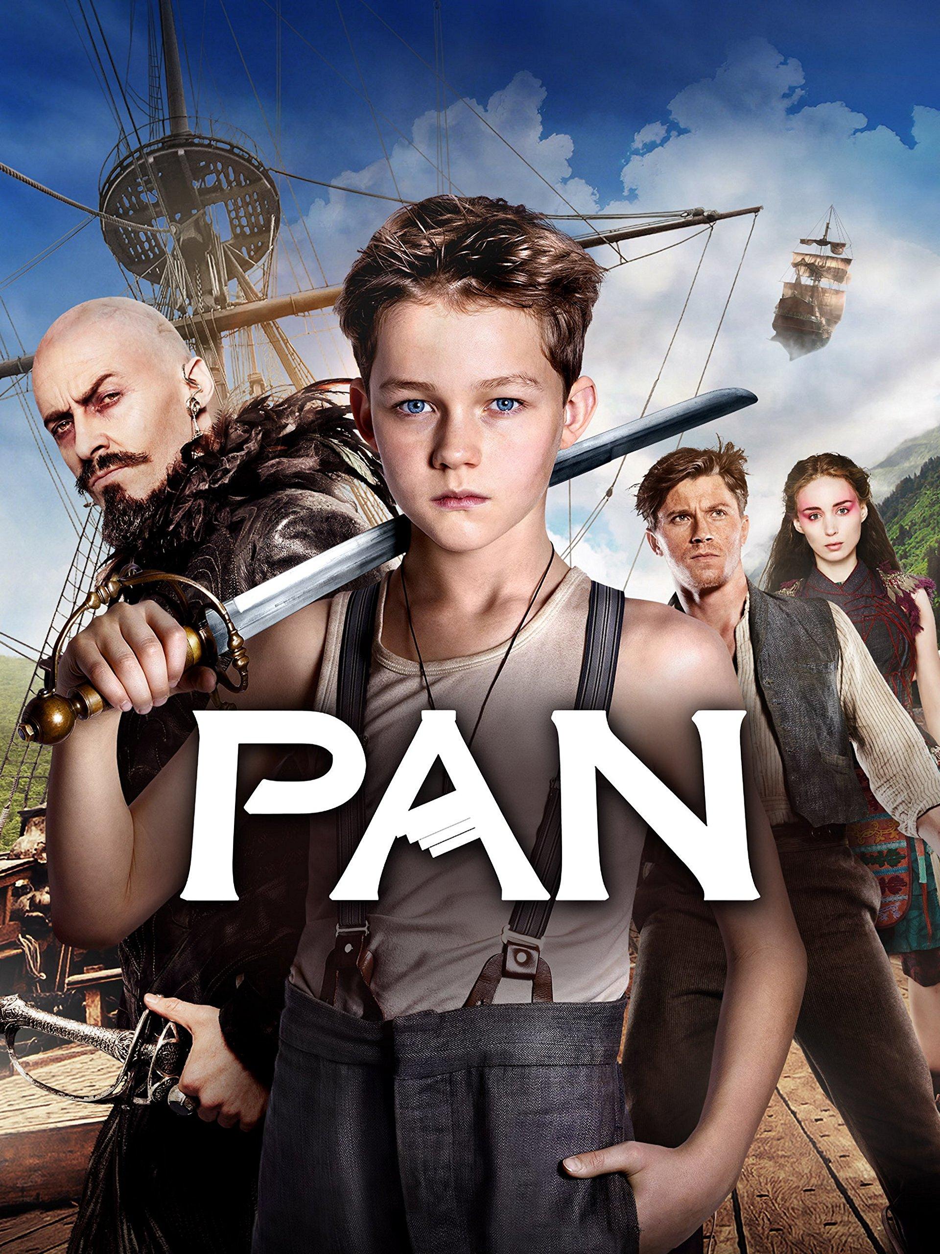 Pan on Amazon Prime Instant Video UK