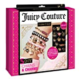Make It Real - Juicy Couture Chains and Charms. DIY Charm Bracelet Making Kit for Girls. Design and Create Girls Bracelets with Juicy Couture Charms, Beads, Velvet Ribbon, Gold Chains and More (Color: Multicoloured)