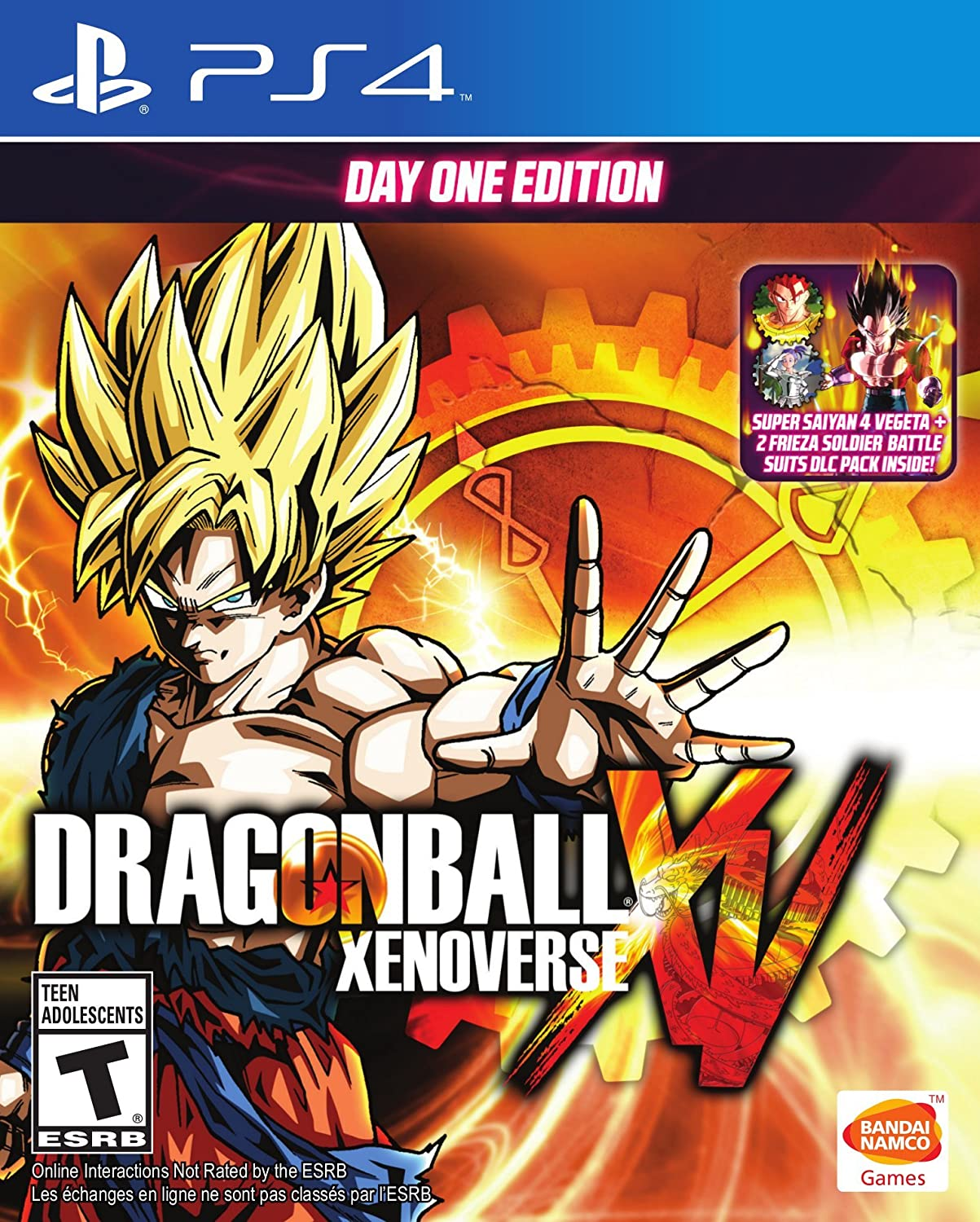 Dragon Ball Xenoverse Day One