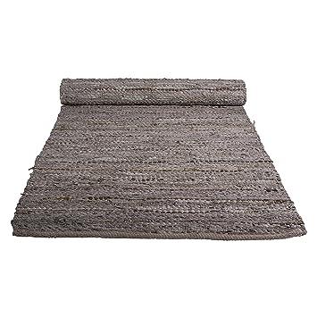 Teppichläufer Küchenläufer Flur 100/% Schurwolle Creme Graphit Barock 2 Breiten
