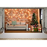 Kate 10x6.5ft Christmas Holiday Backdrops for Photography Living Room Christmas Decoration Tree Backgrounds Photo Studio (Color: 4509, Tamaño: 10x6.5ft)