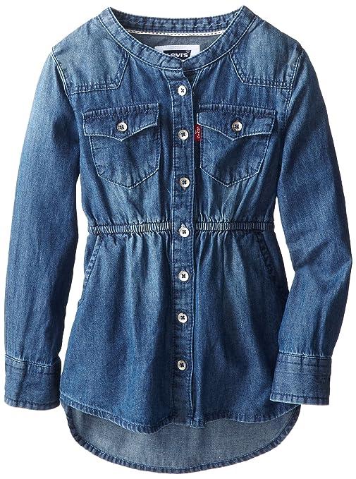 Levi-s-Little-Girls-Daphne-Button-Front-Denim-Shirtdress