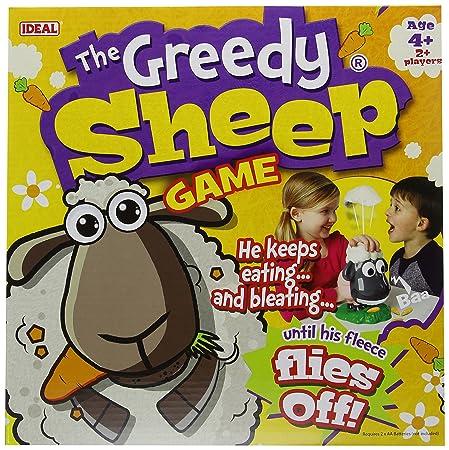 Greedy Sheep – Jeu de Société le Mouton Glouton Version Anglaise