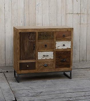 Sideboard Kommode Vintage Unikat Schrank Anrichte Schubladenkommode