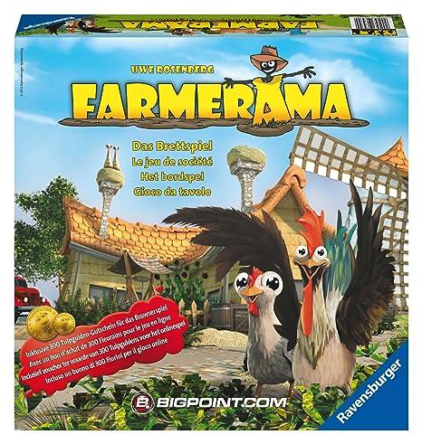 Ravensburger - 26574 - Jeu de Société - Farmerama
