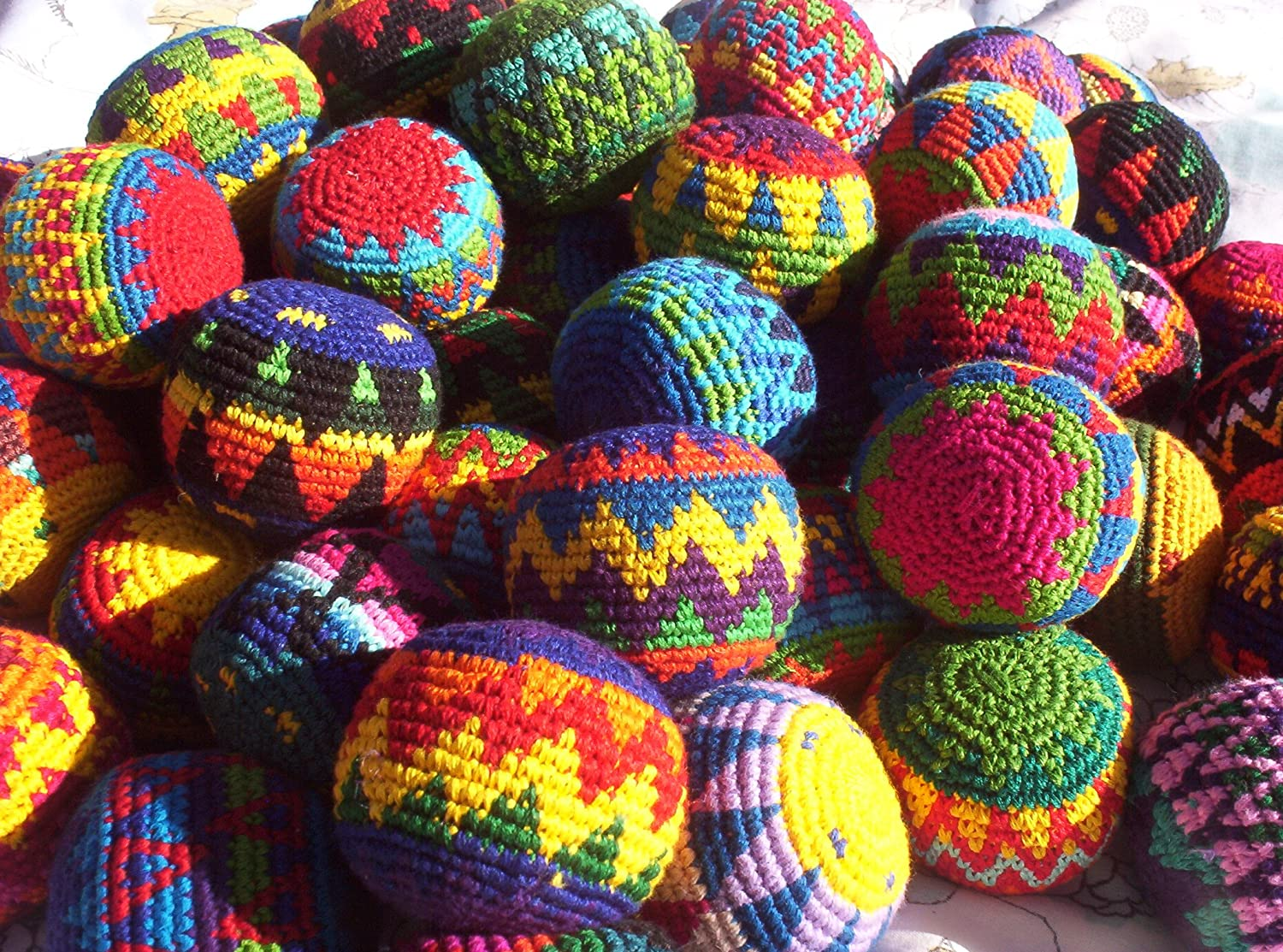 Penny Lane Brand Hacky Sacks Imported from Guatamala allenjoy easter basket butterfly photography backdrops spring photography background photo studio background