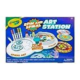 Crayola Spin & Spiral Art Station, DIY Crafts for Kids, Gift, Over 20Piece (Color: Multi)