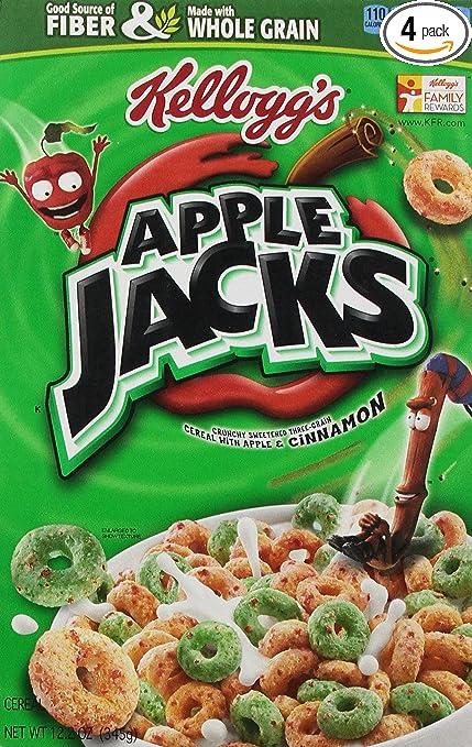 Apple Jacks Cereal Cinnamon Apple Jacks Cereal 12.2-ounce