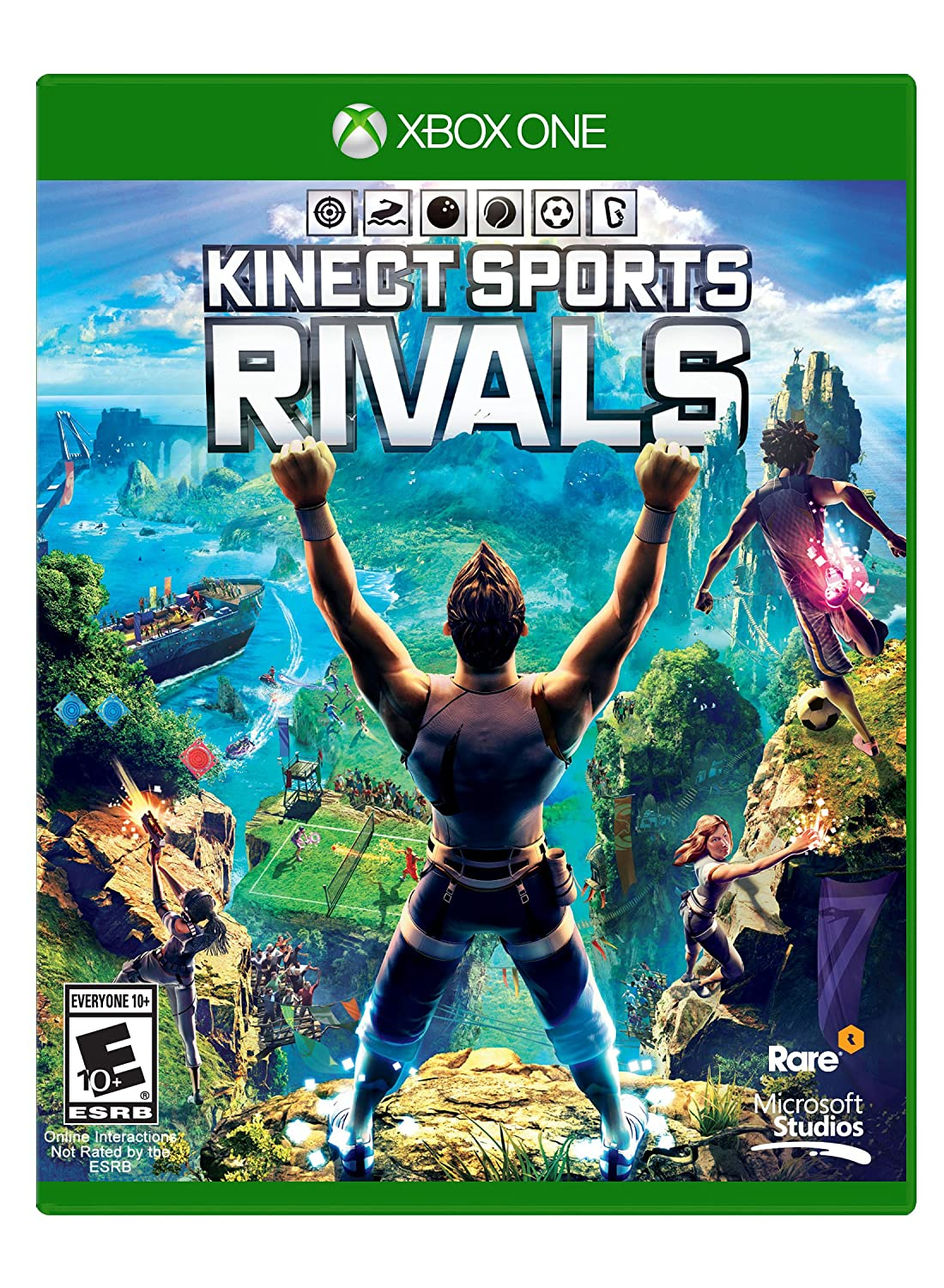 Amazon.com: Kinect Sports: Rivals - Xbox One: Video Games