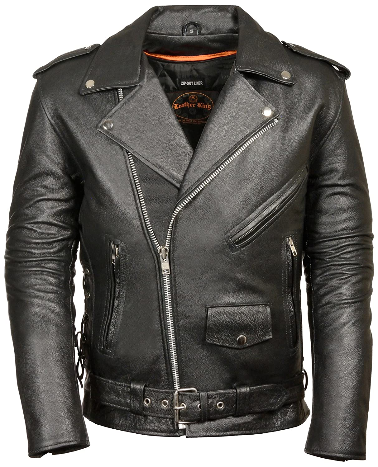 Bikers Zone Leather Jacket Review Leather King Men s Classic