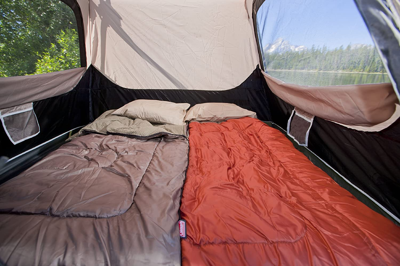 coleman tent & Coleman 4 Person Instant Tent Review - Traveling Monarch