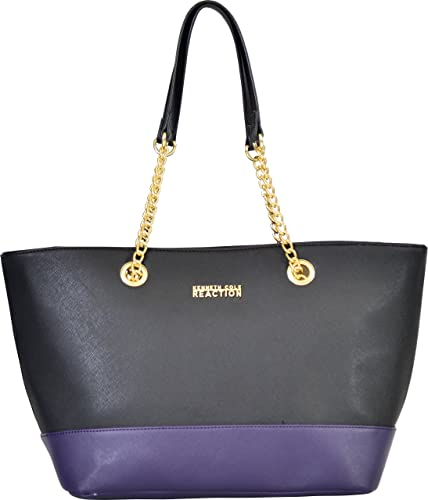 Kenneth Cole Reaction Multiplier Chain Shopper - tote bags - tote handbags - handbags for women