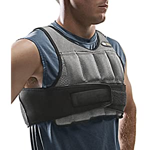 SKLZ Weighted Vest - Variable Weight Training Vest - 10LBS