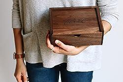 Small Walnut Keepsake Box