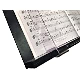 Wind Clips for music stand (Pair) (Large Bend) Musicmaide MMAZ1000-L (Tamaño: Large Bend Clips (for thicker stands))