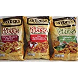 Snyders of Hanover, Pretzel Pieces, Flavor Mix Pack, 12oz Bag (Pack of 3)