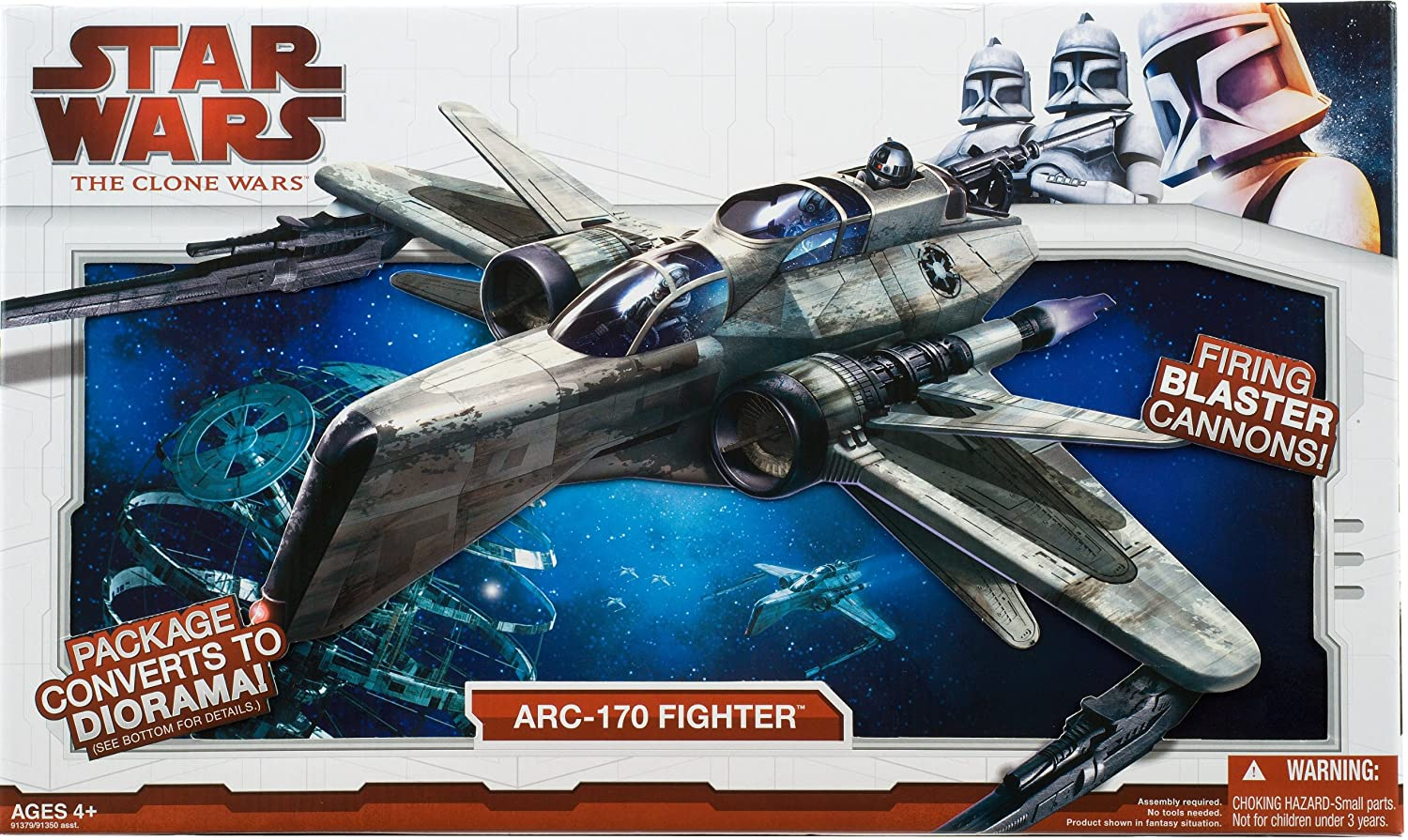 Hasbro – Star Wars – Clone Wars Shadow ARC-170 Starfighter – 5010994429898 günstig