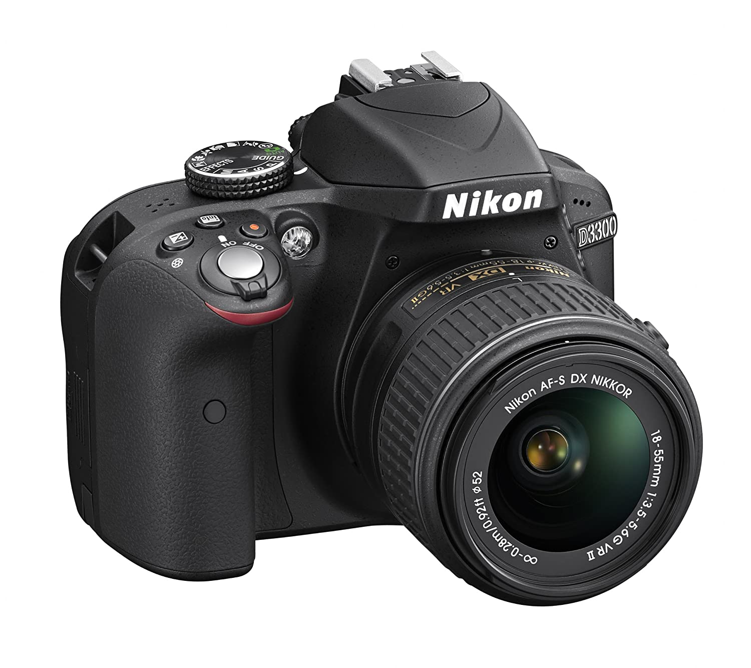 Nikon D3300 24.2 MP CMOS Digital SLR with AF-S DX NIKKOR 18-55mm f/3.5-5.6G VR II Zoom Lens