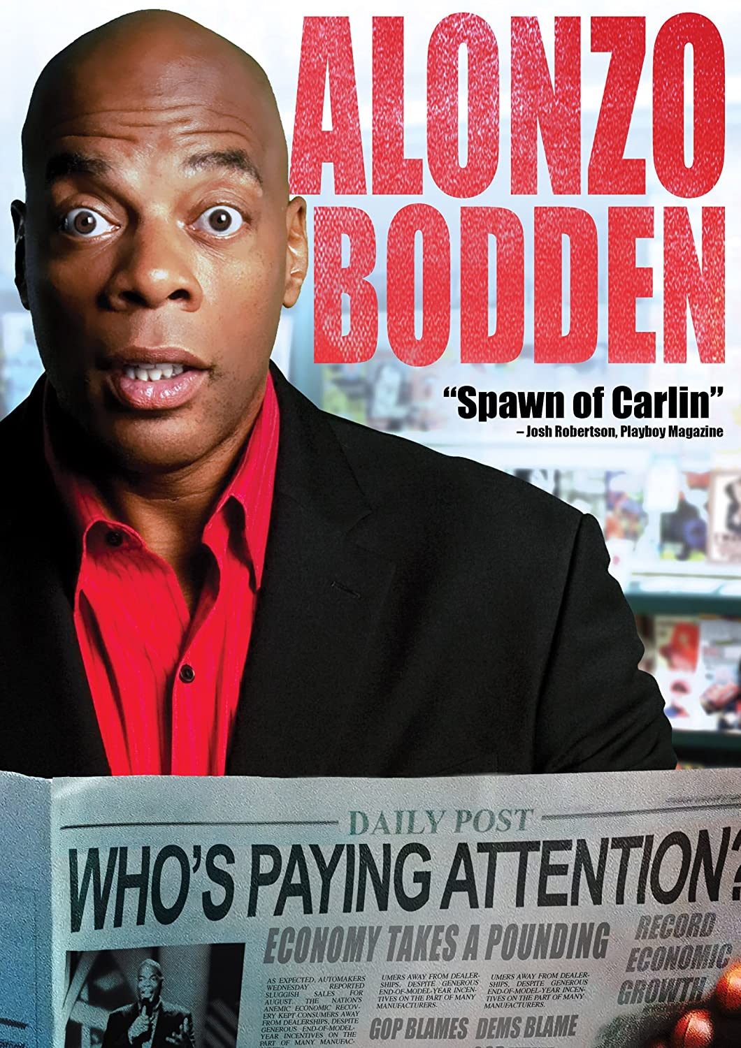 Alonzo Bodden – Flappers Comedy Club, Burbank