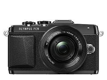 "Olympus E-PL7 Appareil photo hybride Ecran LCD 3"" (7,62 cm) 16,1 Mpix + Objectif 14-42 mm EZ (pancake) Noir"