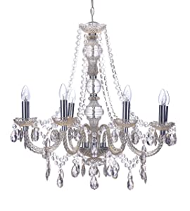 Marco Tielle 8 Arm Light Marie Therese Chandelier in Mink Colour       Customer review and more news
