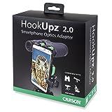 Carson HookUpz 2.0 Universal Smartphone Optics Digiscoping Adapter for Binoculars, Spotting Scopes, Telescopes, Microscopes, Monoculars and More (IS-200)