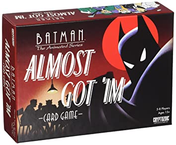 'Crypt ozoic Entertainment cry02408 – Jeu DC Batman : Almost Got 'im Card Game ""