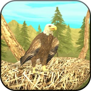 Wild Eagle Sim 3D by Turbo Rocket Games