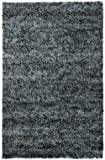 Area Rug 9x13 Rectangle Contemporary Blue-White Color - Chandra Ambiance Collection
