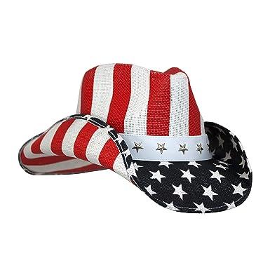 dda43ff57fe Fourth of July Cowboy Cowgirl Hats