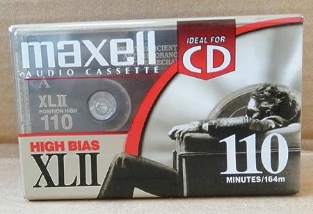 Tape High Bias Maxell High Bias Xlii 110 Iec