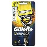 Gillette Fusion5 ProShield Men's Razor with 2 Razor Blade Refills, Mens Fusion Razors/Blades (Color: Razor + 2 Refills, Tamaño: 1 Razor, 2 Refills)