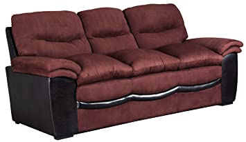 Glory Furniture G195-S Living Room Sofa, Chocolate