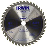 IRWIN Tools Classic Series Carbide Cordless Circular Saw Blade, 6 1/2-inch, 40T (15220) (Tamaño: 6-1/2