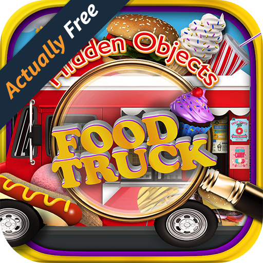 Hidden Object Food Truck - Candy, Chocolate, Cupcake Dessert & Junk Foods Objects Pic Puzzle Objects Seek & Find FREE Game (Letter Quest compare prices)