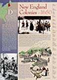 New England Colonies Wall Poster