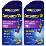 Compound W Wart Remover Fast-Acting Gel, 2 Count (Tamaño: Pack of 2)