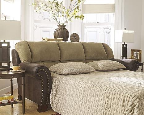 Signature Design by Ashley Vandive Sand Queen Sleeper Sofa