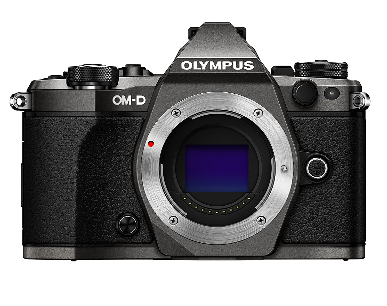 Olympus OM-D E-M5 Mark II Limited Edition Digital Camera (Titanium) (Body Only)