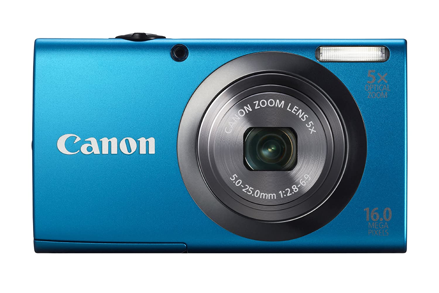 91bLLr bhoL. SL1500  Canon PowerShot A2300 16.0 MP Digital Camera with 5x Optical Zoom (Silver)